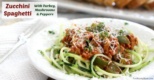 Zucchini Spaghetti facebook