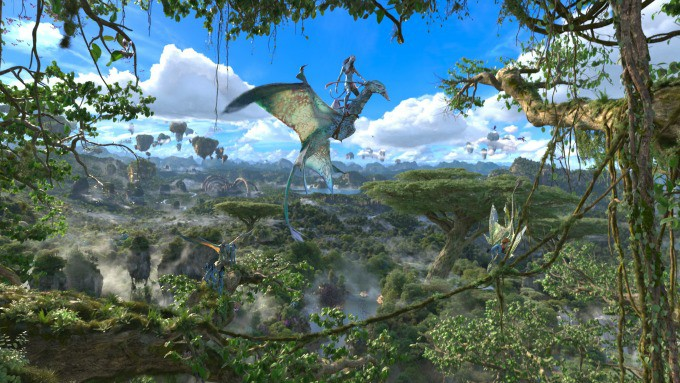 Flight of Passage takes you on an amazing 3d journey through Pandora