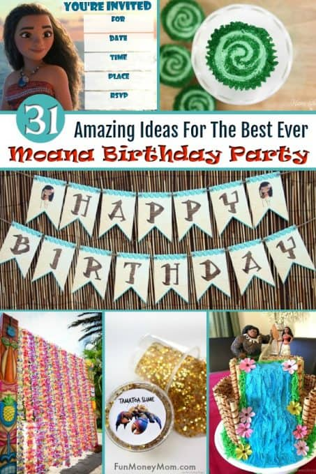 Moana birthday party pinterest