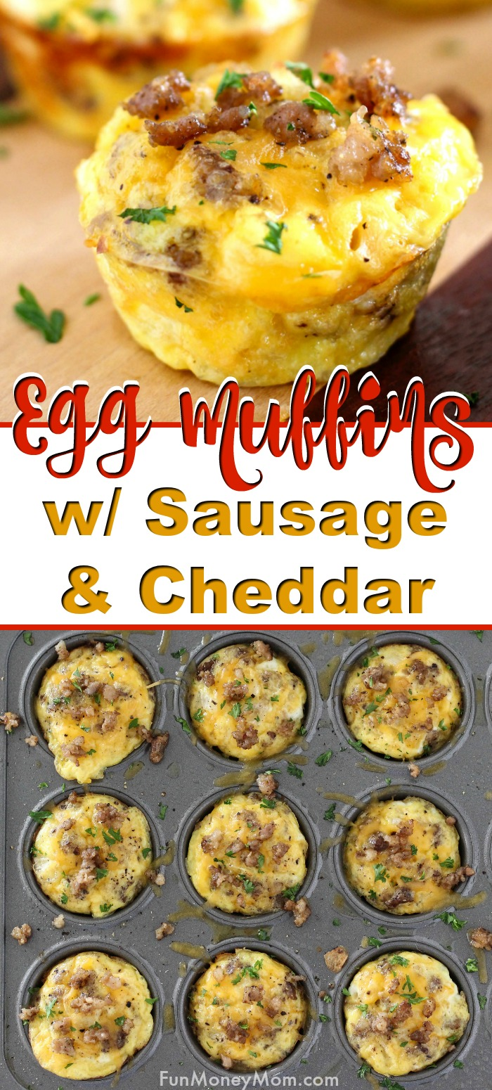 promo image Egg Muffins With Sausage & Cheddar