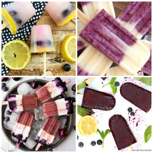 Blueberry Popsicle Recipes