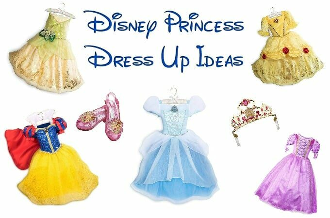 Disney Princess Dress Up Feature