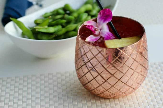 Cocktails at Ocean Hai