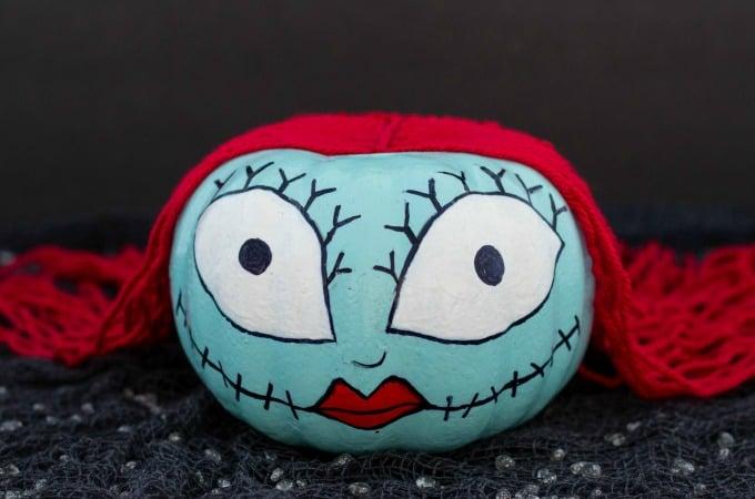Sally Skellington Pumpkin Feature