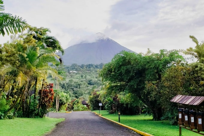 Arenal Hotel overlooking the Arenal Volcano