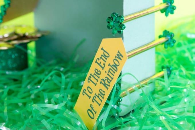 Signs to help catch a leprechaun