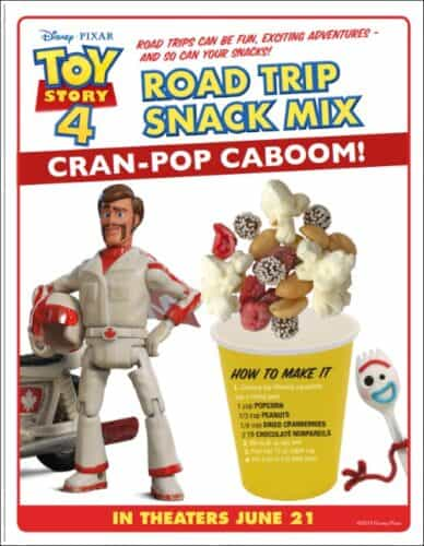 Duke Caboom's Toy Story Snack Mix