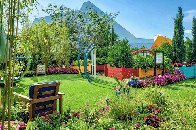 Play Full Garden at Epcot's Flower & Garden Festival