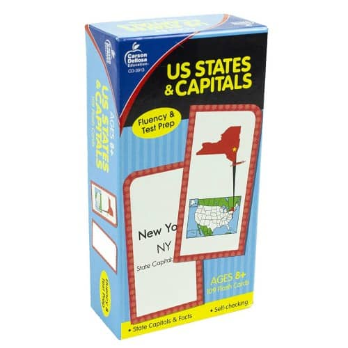 U.S. States and Capitals Game