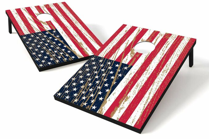 Cornhole is one of the all time best outdoor games for kids