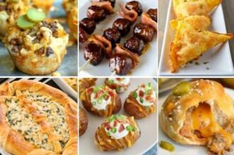 Foodball Party Food