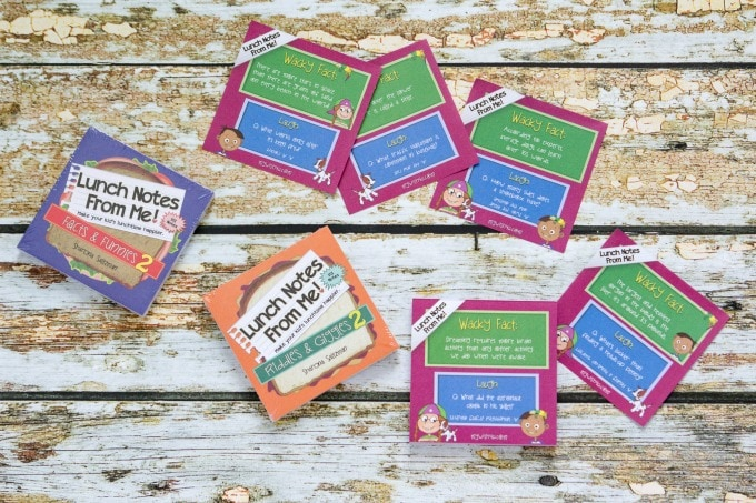 Lunchbox notes for back to school