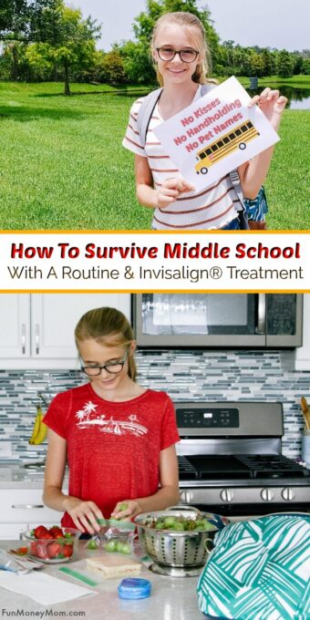 How To Survive Middle School Pin
