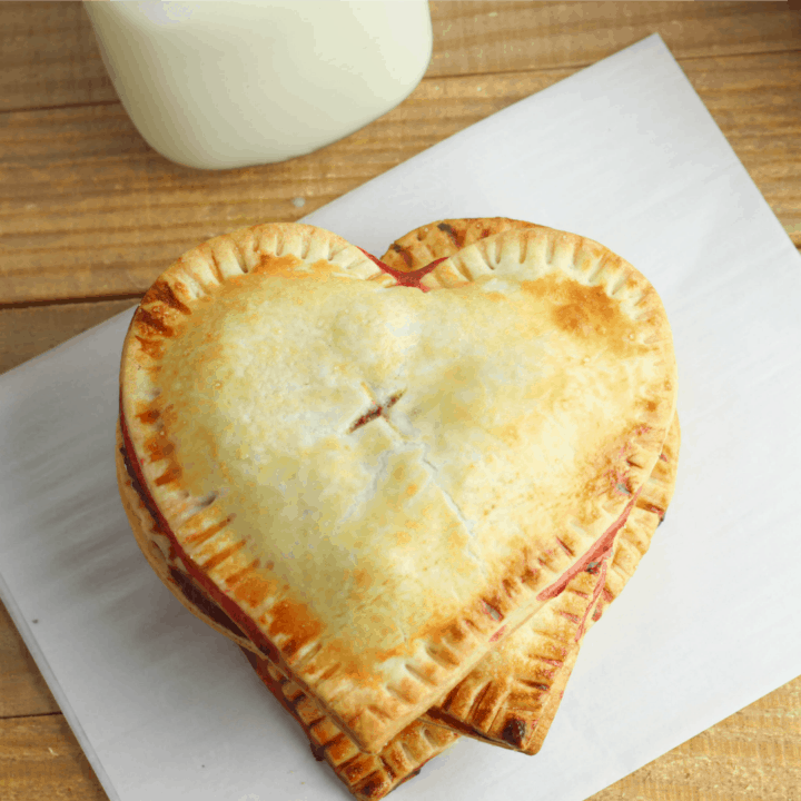 Heart Shaped Hand Pie IG size