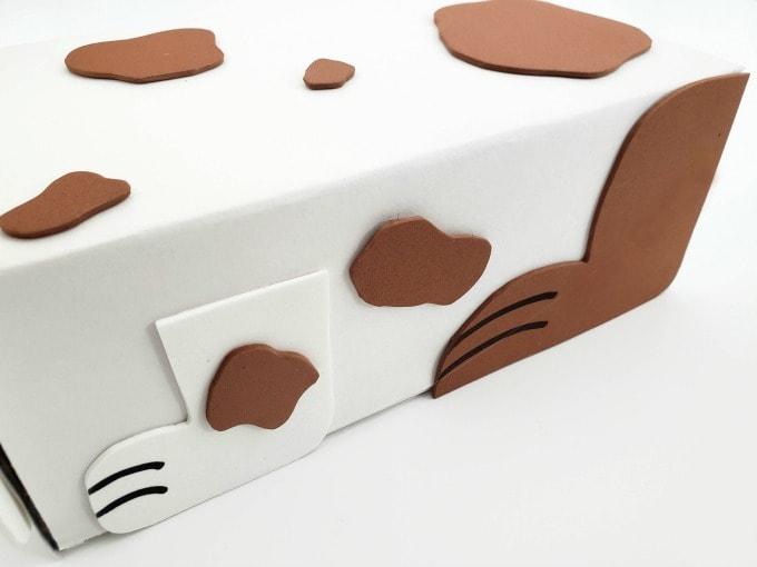 Dog legs for valentine box 680