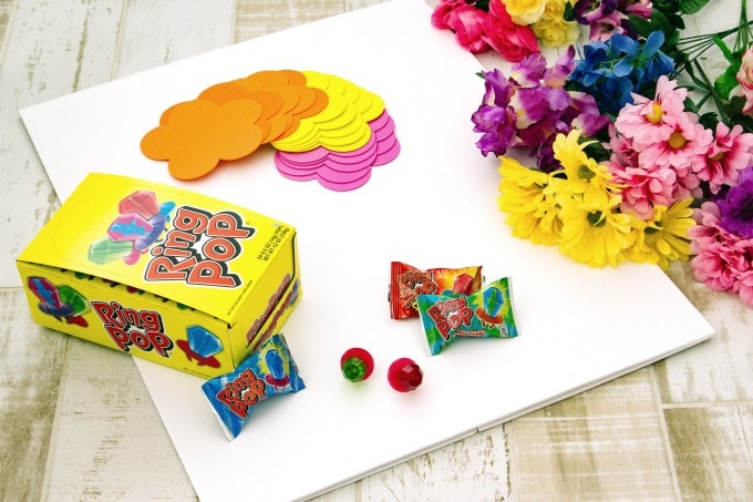 Materials for ring toss game