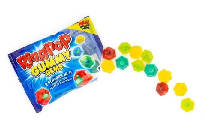 Ring Pop Gummy Gems