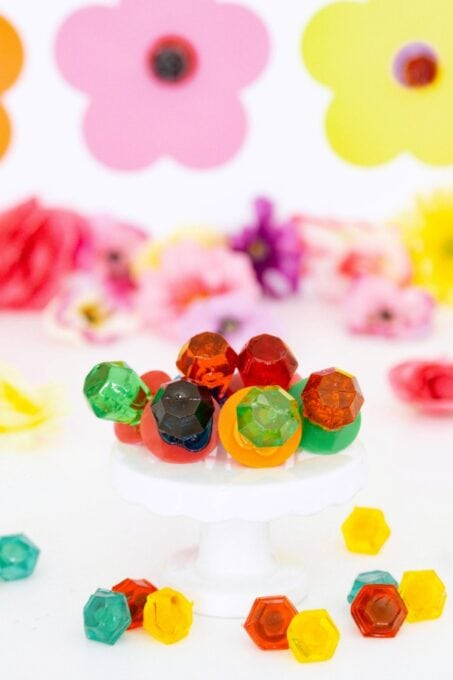 Ring Pop candy up close