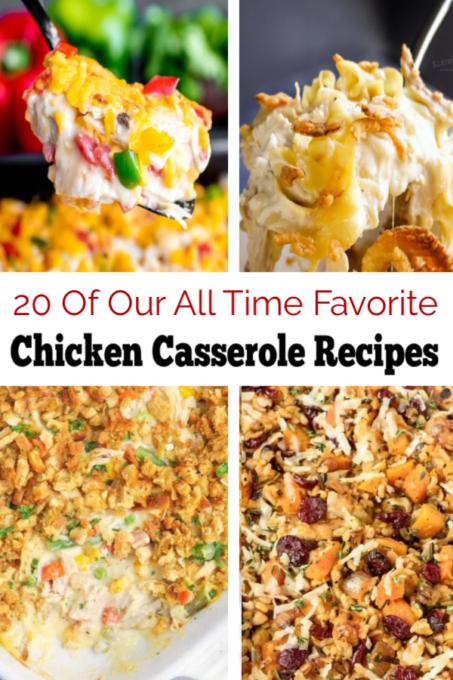 Chicken casserole images