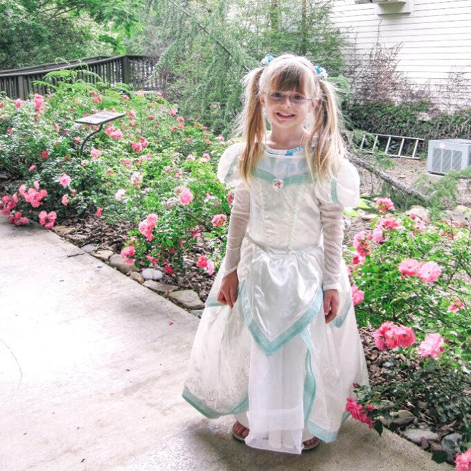 Ashling in an Ariel wedding dress