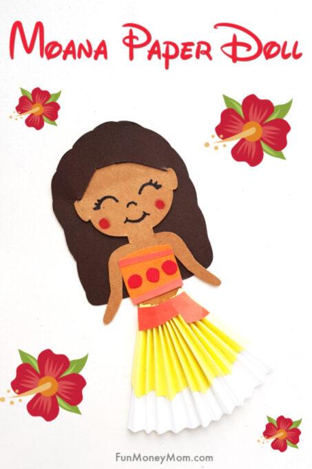 Moana Paper Craft Pin 1