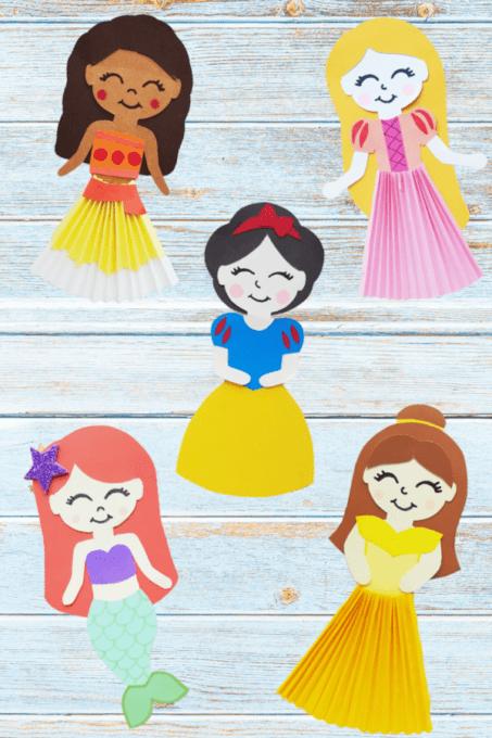 Disney princess paper dolls 2