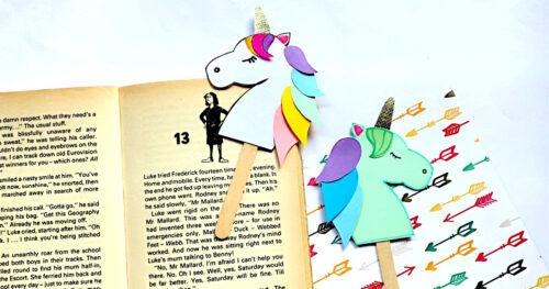 Unicorn bookmark facebook