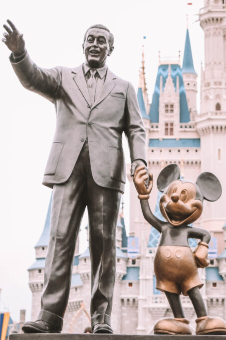 Walt and Mickey will be there for the Disney World reopening