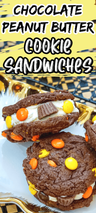Reeses Chocolate Peanut Butter Cookies Pin 2