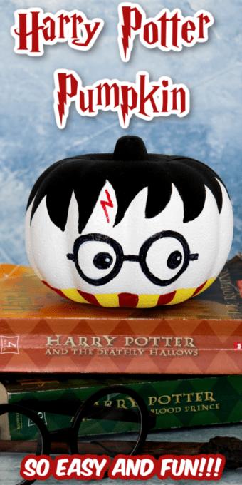 Harry Potter pumpkin pin 3