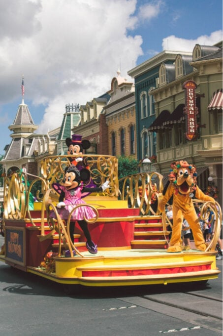 Fall fun with the Mickey cavalcade