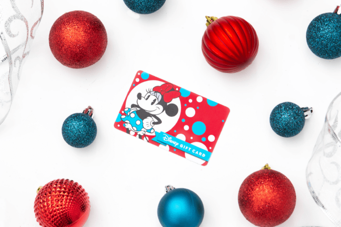 A gift card is one of the best Disney gifts for adults