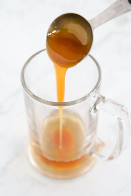 Combining butterscotch syrup with cream soda