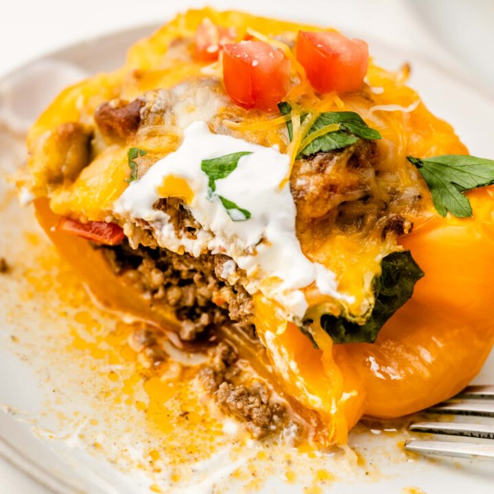 Taco stuffed peppers sq