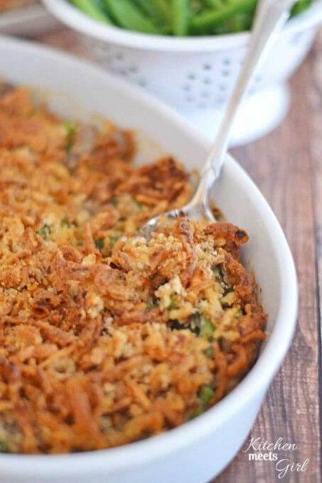 Ultimate green bean casserole (1)