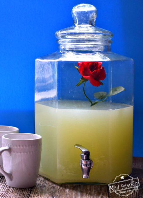 Beauty and the Beast party drink