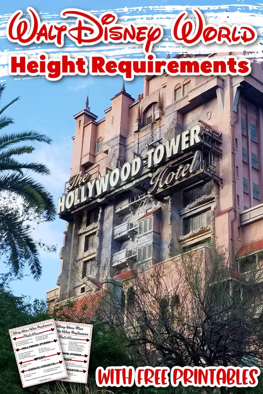 Tower Of Terror At Hollywood Studios