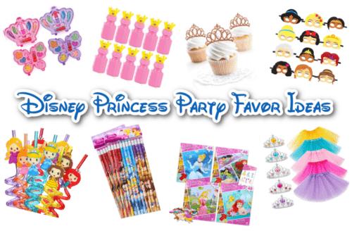 Disney princess party favor ideas feature