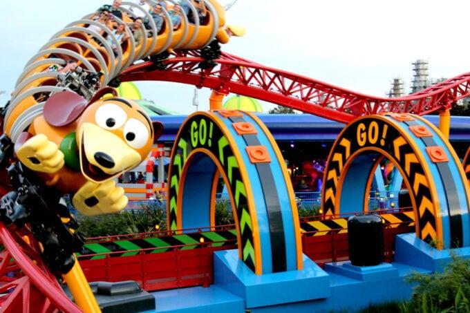Slinky Dog Dash in Hollywood Studios at Walt Disney World