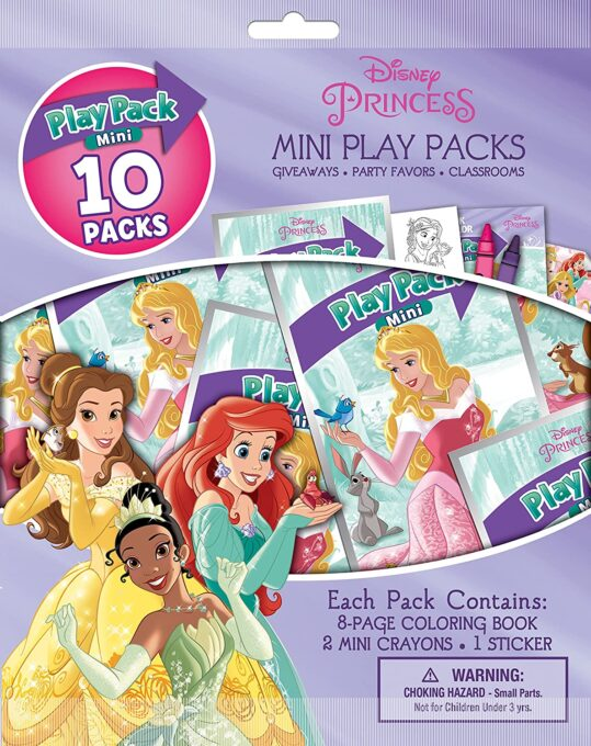 Disney princess mini play pack