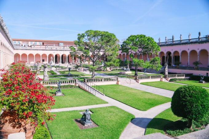 The Ringling Museum Of Art grounds