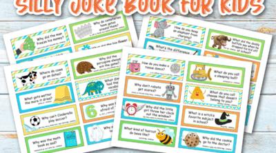 Silly Joke Book Feature