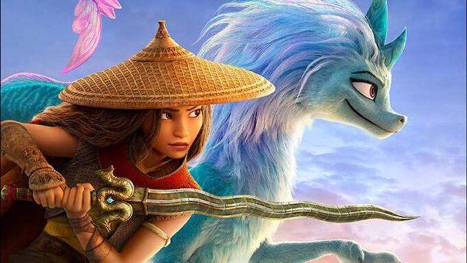 Raya, the Disney princess from Raya And The Last Dragon