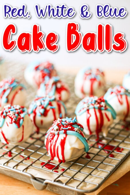 Red white and blue cake balls pin 1