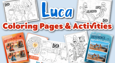 Luca Coloring Pages