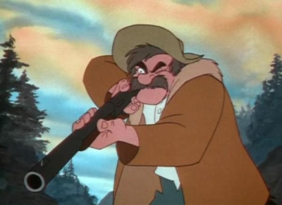 Amos Slade from The Fox And The Hound