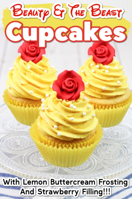 Beauty And The Beast Cupcakes Pin 7