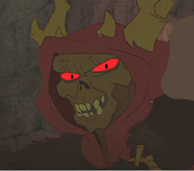 The Horned King from The Black Cauldron