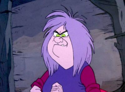 Madam Mim from The Sword In The Stone