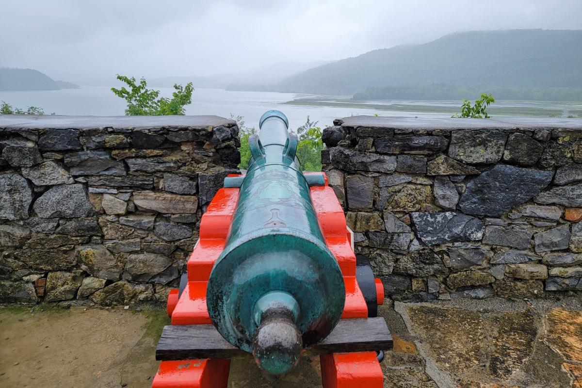 Canon at Fort Ticonderoga